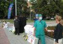 У Дніпрі пройшла акція, що викриває злочини компартії в Китаї над послідовниками Фалунь Дафа