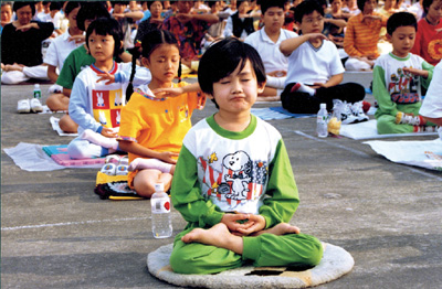 Фалунь Дафа (Фалуньгун), фото, медитація, здоровий спосіб життя