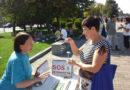 На День міста жителі Дніпра познайомились з Фалунь Дафа