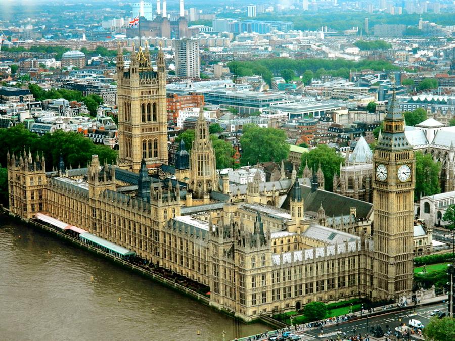 Парламент в Лондоні, де була розглянута проблема насильницького вилучення органів у Китаї.