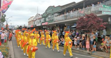 Практикуючі Фалуньгун взяли участь у 20 Різдвяних парадах в Новій Зеландії
