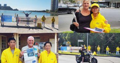 Автомобільний тур по західній Австралії проти злочинного вилучення органів у Китаї