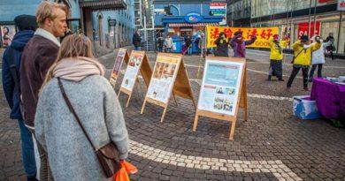Практикуючі Фалунь Дафа взяли участь у святкових заходах в Сіднеї (Австралія), Сан-Хосе (США) і Стокгольмі (Швеція)