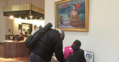 Живописні твори, створені художниками, практикуючими Фалуньгун, вплинули на співробітників і відвідувачів Капітолії в Пенсільванії