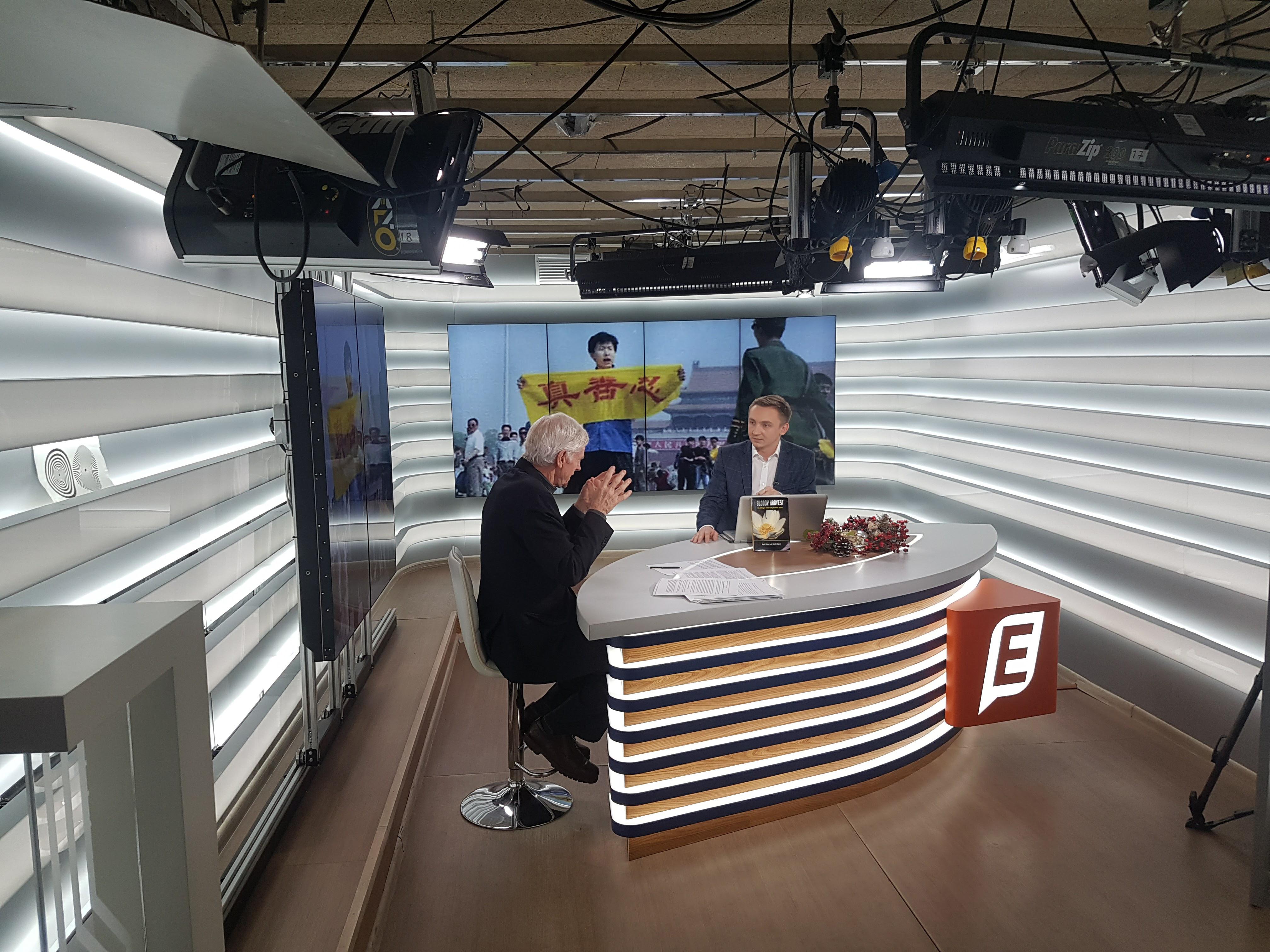 """Девід Кілгур на телеканалі """"Еспрессо ТВ"""" (січень 2017р.)"""