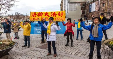Заходи Фалуньгун, які нещодавно пройшли по всьому світу