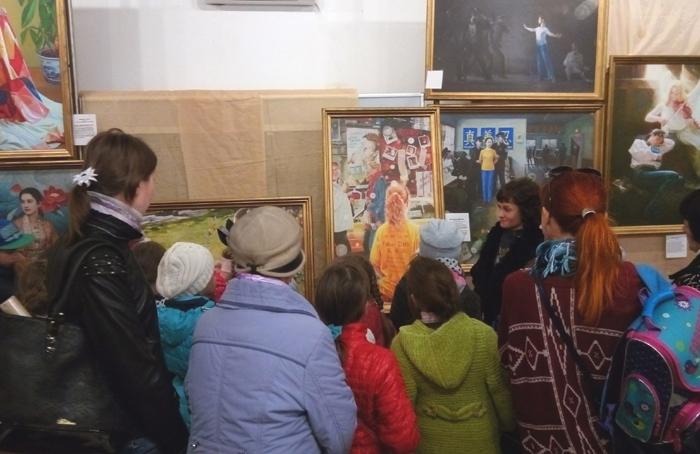 Міжнародна художня виставка «Мистецтво Чжень Шань Жень Україна» в Павлограді (2017р.)