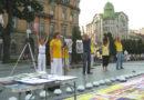 Три міста Західної України дізналися правду про Фалунь Дафа і репресії