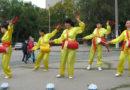 Послідовники Фалунь Дафа взяли участь у святкуваннях Дня Міста в м. Запоріжжі