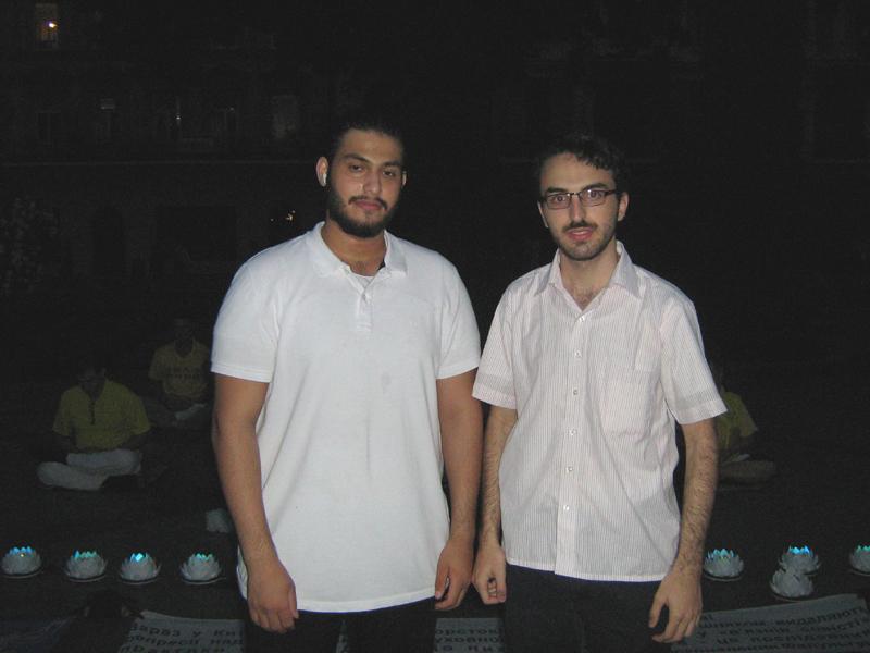 Енес і Адам з Сирії