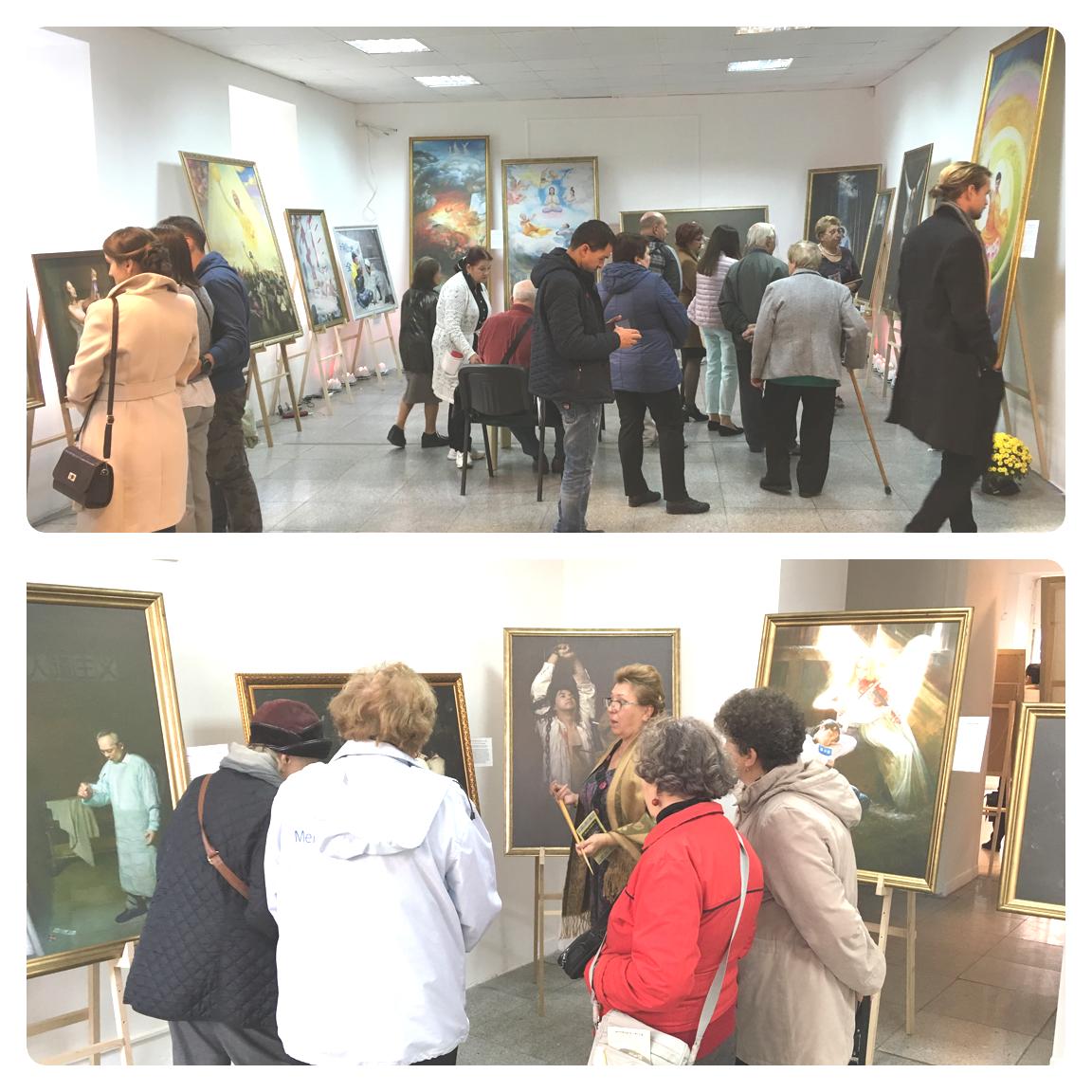 Виставку відвідало багато одеситів і гостей міста, в тому числі іноземців