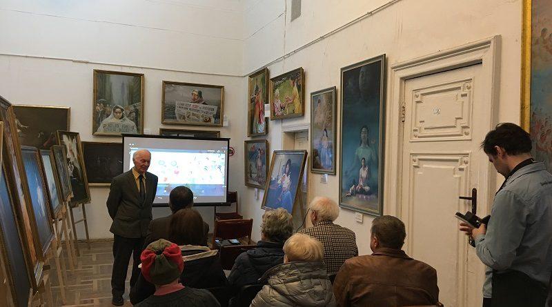 У Києві відкрилася ювілейна виставка картин «Мистецтво Чжень Шань Жень»