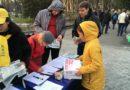 У Харкові пройшли масові заходи послідовників Фалунь Дафа зі збором підписів під всесвітньою петицією