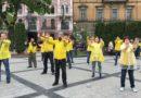 У Львові на День міста пройшли масові заходи послідовників Фалуньгун