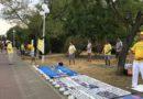 У Чорноморську відбулися масові заходи послідовників Фалуньгун