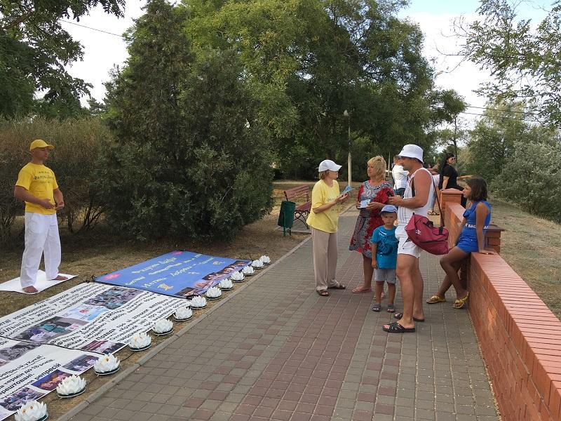 Глядачі дізнаються про факти про репресії послідовників Фалунь Дафа у Китаї комуністичним режимом