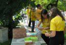 Під час святкування Дня міста Вишгорода люди познайомилися з Фалунь Дафа