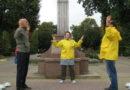 У Тернополі відбулися заходи послідовників вчення Фалунь Дафа