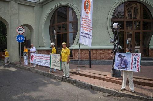 Репортаж одеської газети «Думська» про захід практикувальників
