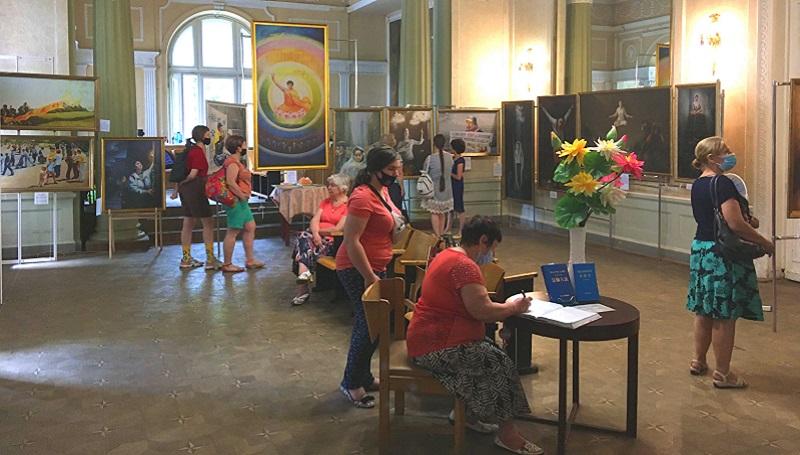"""Міжнародна художня виставка картин """"Мистецтво Чжень Шань Жень"""" у Харкові, 21 червня-04 липня 2021 року"""
