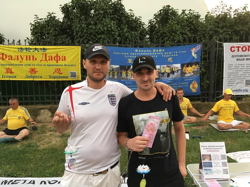 Сергій і Максим з Чорноморська (Фото: fofg.in.ua)