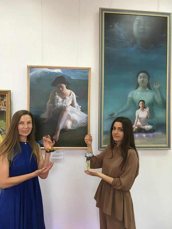Ирина и экскурсовод Александра